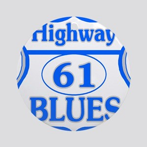 Blues Highway Ornament (Round)