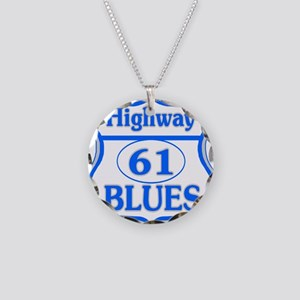 Blues Highway Necklace Circle Charm