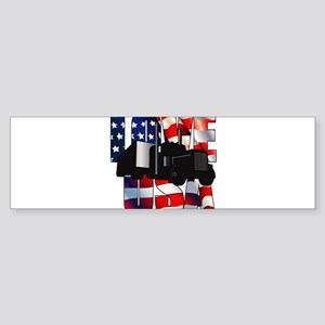 Love USA Bumper Sticker