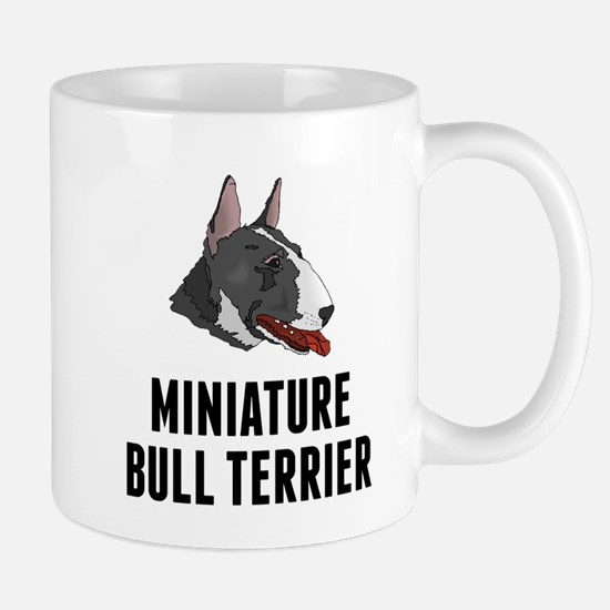 Miniature Bull Terrier Mugs