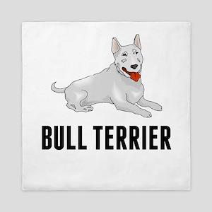 Bull Terrier Queen Duvet