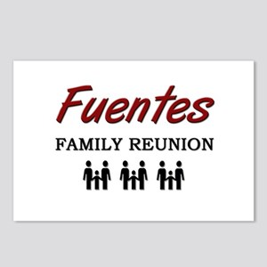 Fuentes Family Reunion Postcards (Package of 8)
