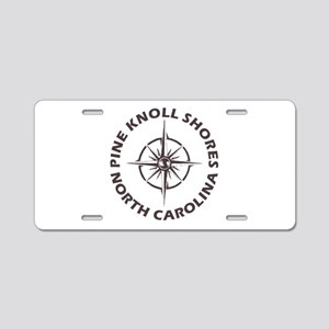North Carolina - Pine Knoll Aluminum License Plate