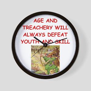 i love archery Wall Clock