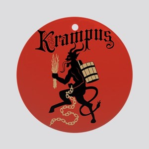 Krampus Ornament (Round)