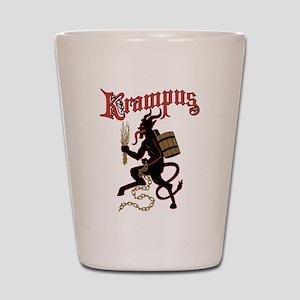 Krampus Shot Glass