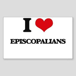 I love Episcopalians Sticker