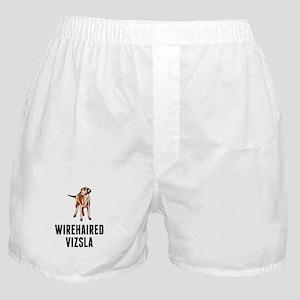 Wirehaired Vizsla Boxer Shorts