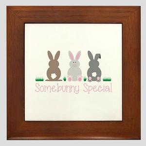 Somebunny Special Framed Tile