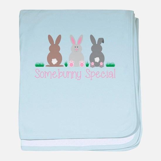 Somebunny Special baby blanket
