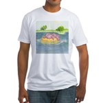 Summertime, and the Livin' is Easy Fitted T-Shirt