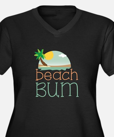 Beach Bum Plus Size T-Shirt