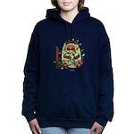 Siamese Cat Christmas Women's Hooded Sweatshirt