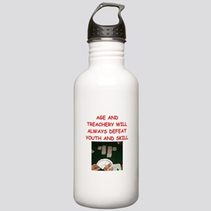 i love bridge Water Bottle