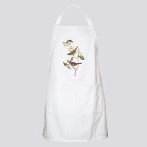 Audubon White Throated Sparrow Original Apron