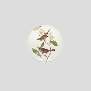 Audubon White Throated Sparrow Original Mini Butto
