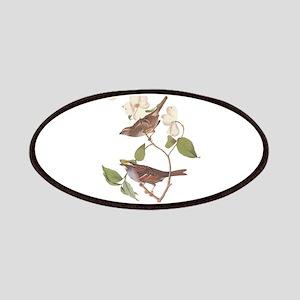 Audubon White Throated Sparrow Original Patches