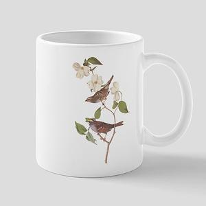 Audubon White Throated Sparrow Original Mugs