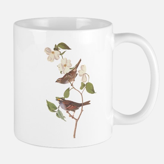 Audubon White Throated Sparrow Original Mugs