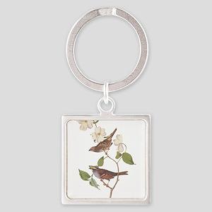 Audubon White Throated Sparrow Original Keychains