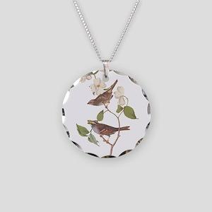 Audubon White Throated Sparrow Original Necklace