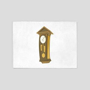 Grandfather_Clock_Base 5'x7'Area Rug