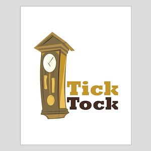 Grandfather_Clock_Tick_Tock Posters