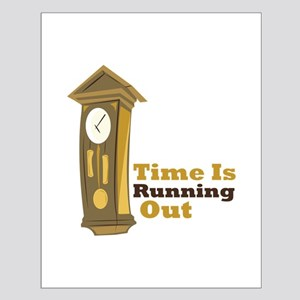 Grandfather_Clock_Time_Is_Running_Out Posters