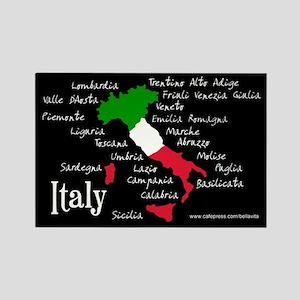 Regions of Italy Magnet