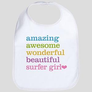 Surfer Girl Bib