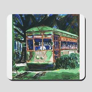 New Orleans Streetcar Mousepad