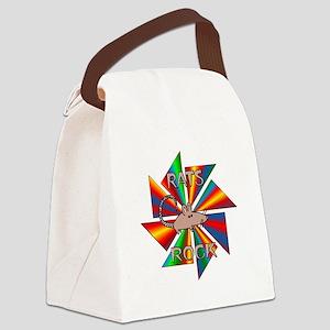 Rats Rock Canvas Lunch Bag