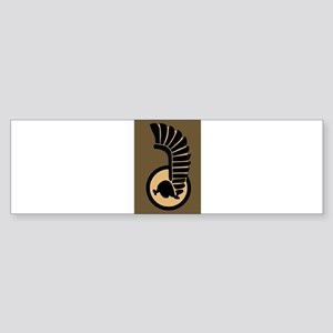 Ist Polish Armoured Division Bumper Sticker