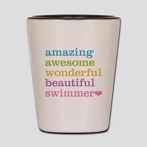 Swimmer Shot Glass