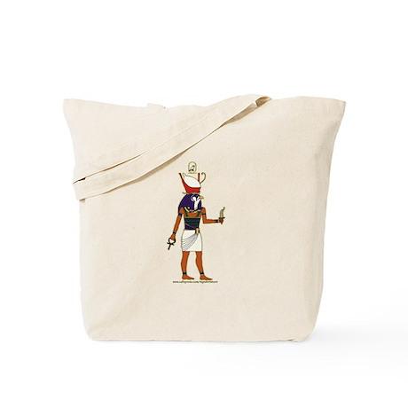 Horus Hieroglyph Tote Bag