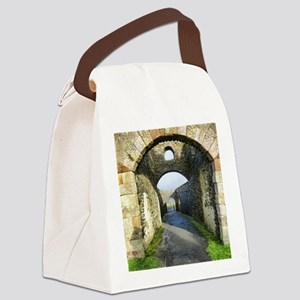 Mussendun Temple and Downhill Dem Canvas Lunch Bag