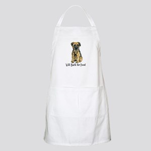 Border Terrier Bark BBQ Apron