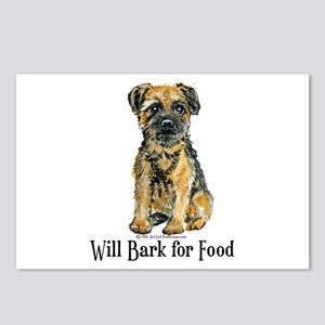 Border Terrier Bark Postcards (Package of 8)