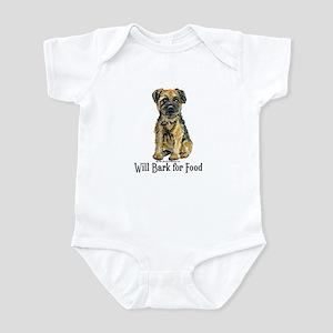 Border Terrier Bark Infant Bodysuit