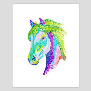 Rainbow Pony Small Poster