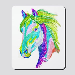 Rainbow Pony Mousepad