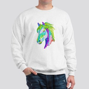 Rainbow Pony Sweatshirt