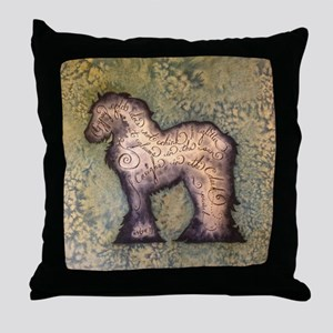 Gypsy Proverb Throw Pillow