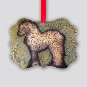 Gypsy Proverb Picture Ornament
