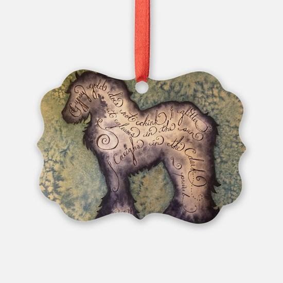 Gypsy Proverb Ornament