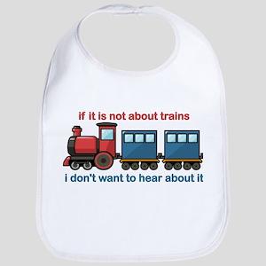 Train Talk Bib
