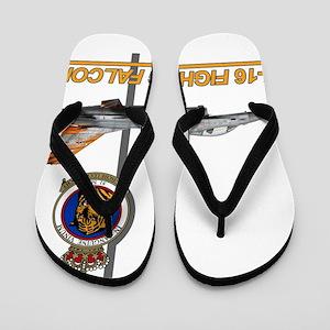 31ST_F16_FIGHTING_FALCON.png Flip Flops