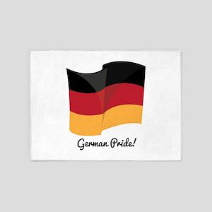 German Pride 5'x7'Area Rug