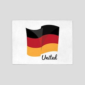 United Flag 5'x7'Area Rug