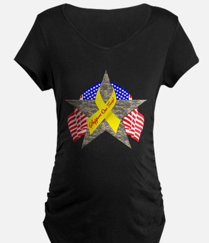 Support Our Troops Star T-Shirt
